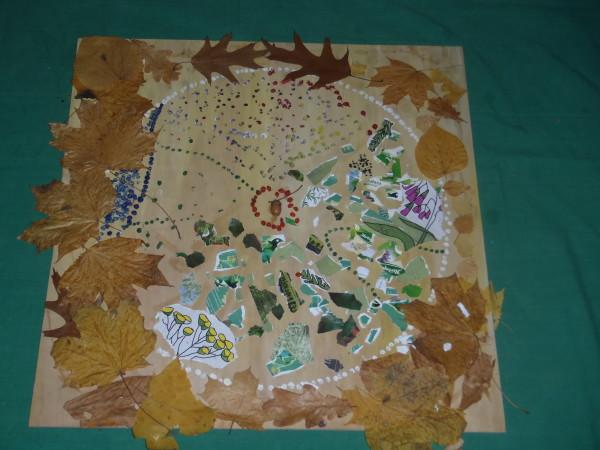 Mandala-mapa Milanówka