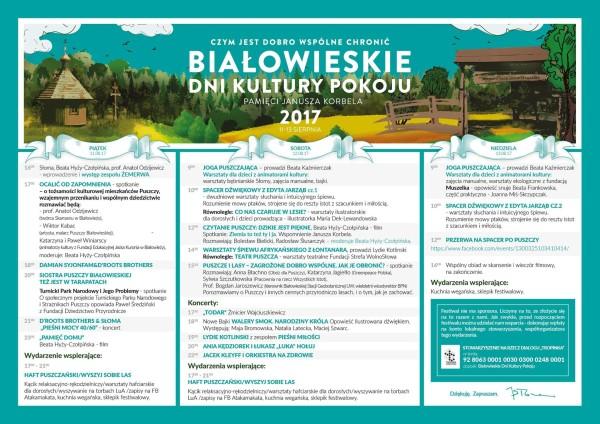 Białowieskie Dni Kultury Pokoju